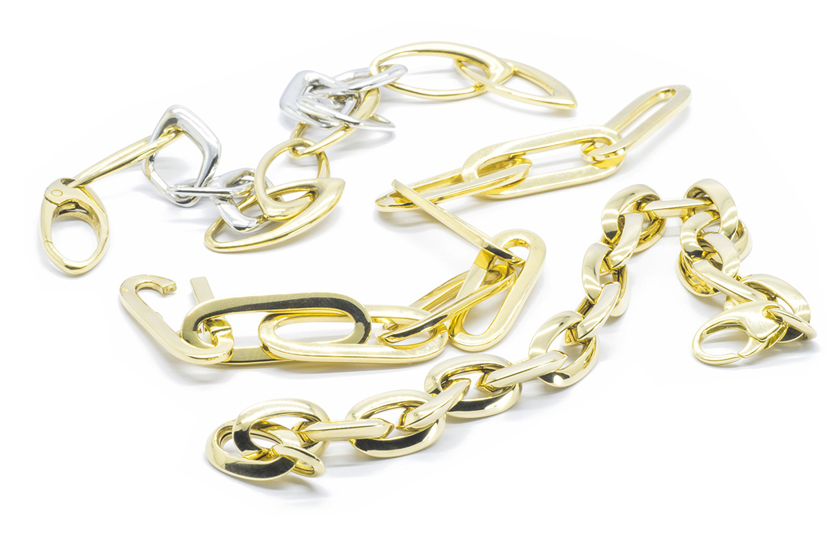 Pulseras diseño de oro